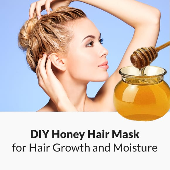 DIY Honey Hair Mask for Hair Growth and Moisture