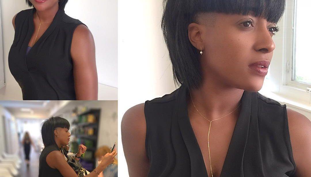 Eccentric Undercut with Blunt Edges Short Hairstyle