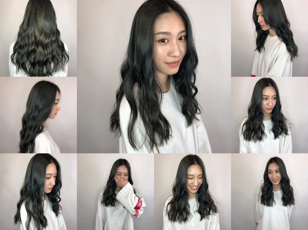 Wavy Lengths with Soft Blend U-Cut Layers and Black Color Long Hairstyle