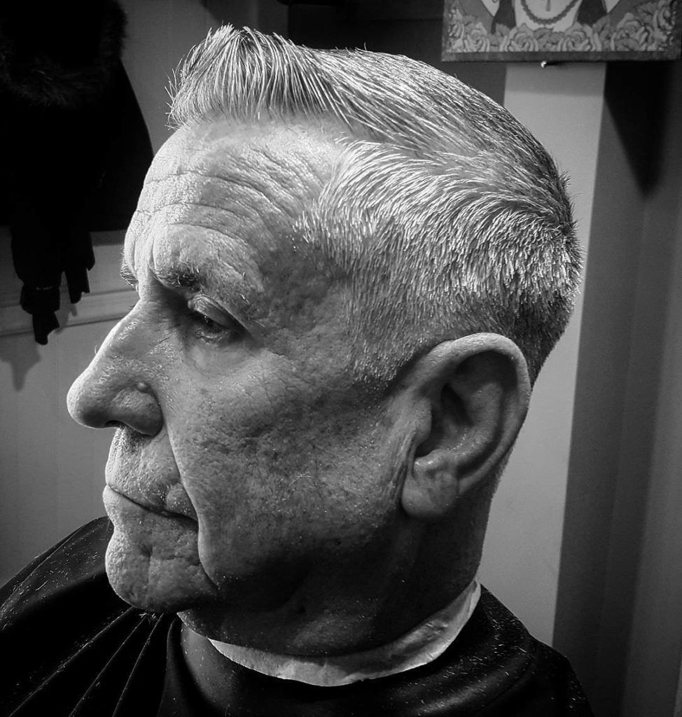 Classic Crewcut with Tapered Sides