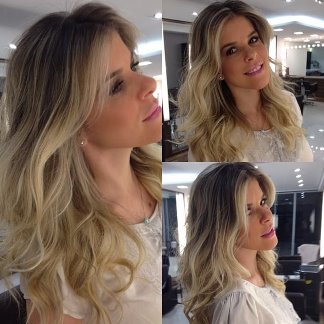 Long Wavy Hair with Short Layers