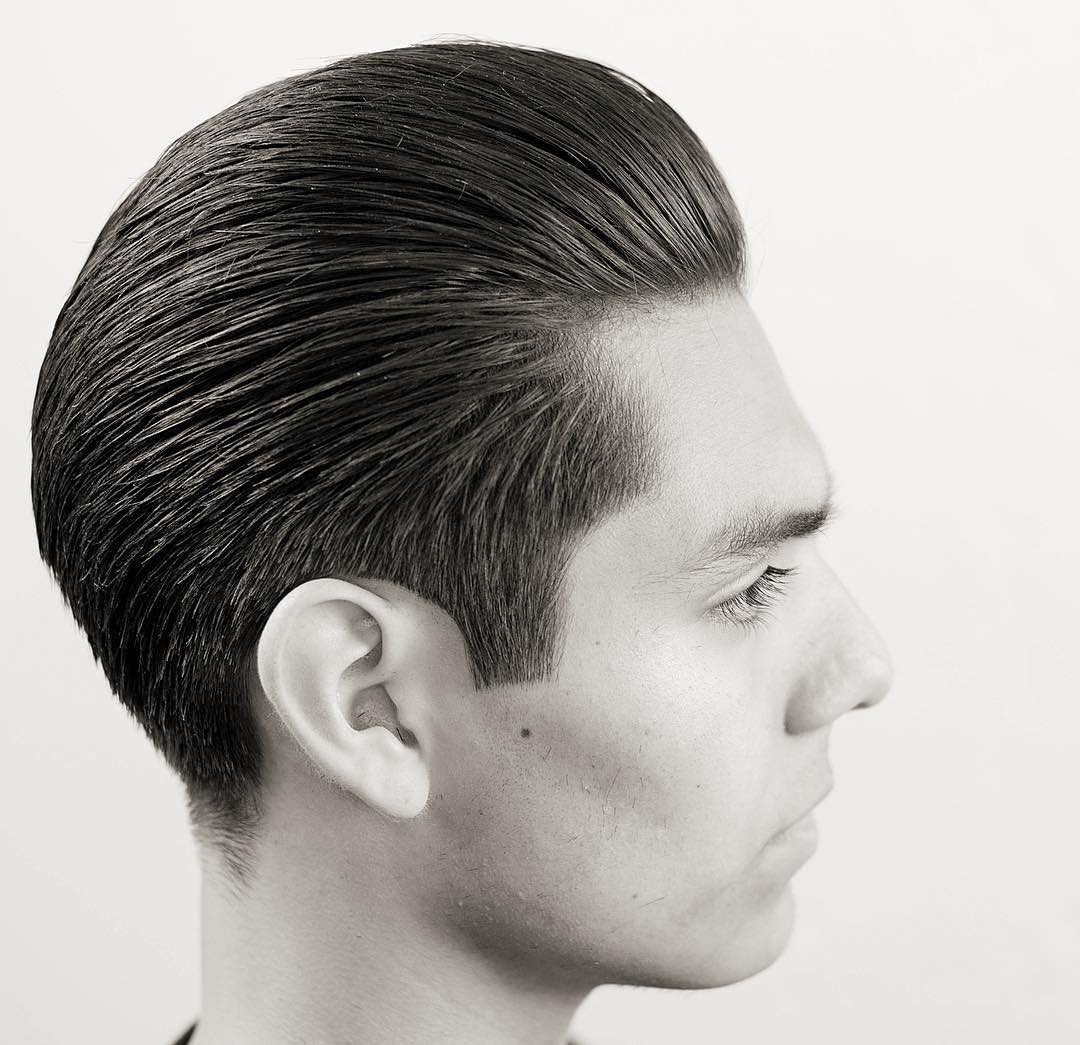 Blended Regular Cut Backcombed with Low Taper