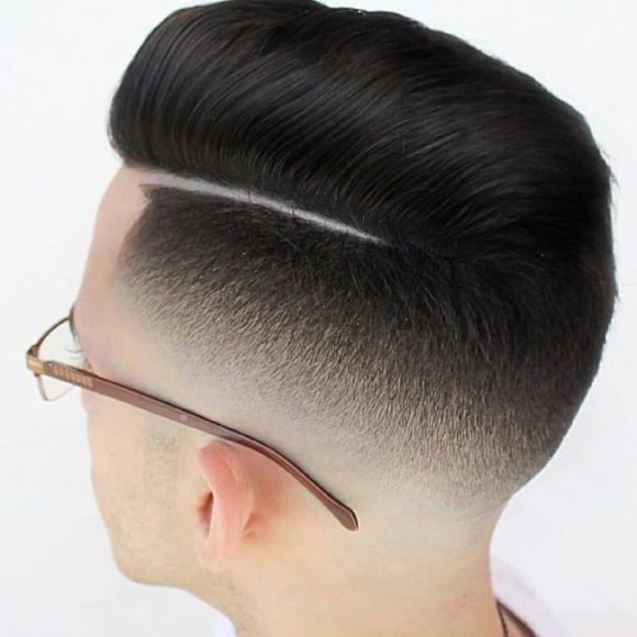 Undercut Disconnected Combover