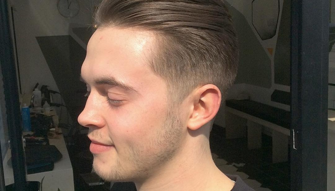 Undercut with Pompadour and Taper