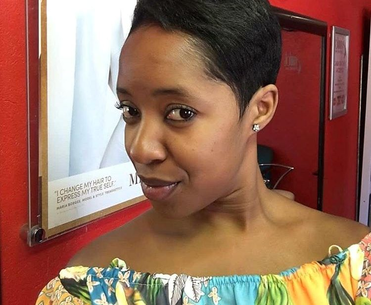Short Textured Pixie with Top Volume